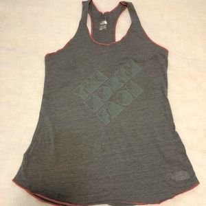 NWOT THE NORTH FACE SIZE MEDIUM GRAY TANK TOP